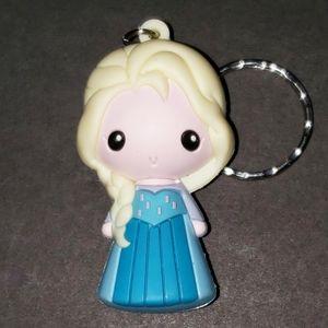 NWOT Disney Elsa Figural Keyring